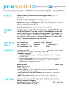 Resume, Creative resume and Resume design on Pinterest