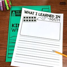 End of the Year Memory Book Freebie! Writing Center Kindergarten, Kindergarten Handwriting, Kindergarten Special Education, Handwriting Activities, Kindergarten Activities, Guided Reading Lessons, Writer Workshop, Memory Books, Teacher Resources