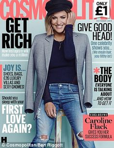Hearst Magazines UK reveals bold new look for Cosmopolitan and invests in new marketing and distribution strategy Caroline Flack Style, Magazine Titles, Magazine Covers, Love You Boyfriend, One Direction Singers, Uk Magazines, Passion For Life, Magazine Cover Design, All About Fashion