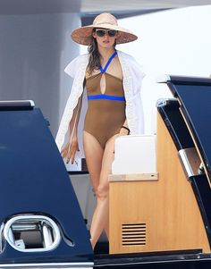 Olivia Palermo Yacht Look