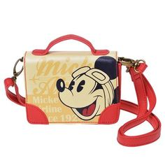 Airline Mickey Coin Purse Disney Store Japan
