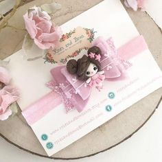 Pink ballerina hair bow ballerina headband velvet hair bow | Etsy Ribbon Headbands, Baby Headbands, Crochet Headbands, Ballerina Hair, Homemade Bows, Bow Template, Cute Polymer Clay, Velvet Hair, Boutique Hair Bows