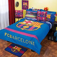 Coordinado de Edredón FCBarcelona #Recamara #Niños #Edredon #Hogar #IntimaHogar #FCBarcelona #Futbol