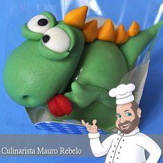 Tema Dinossauro Bombom Docinhos Bolos Modelados - Culinária-Receitas - Mauro…