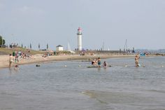One of the beaches in Hellevoetsluis