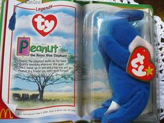 Elephant gifts for kids and pets vintage brand new in box Beanie Babies McDonald's Toy Happy Meal Toy