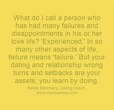 Dating failure quotes