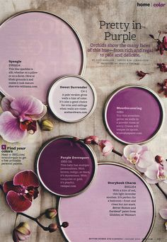 Pretty in purple / bhg