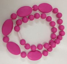 Pink Teething Necklace $20