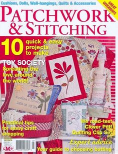 Patchwork&S 9-10 - 2009  89 pages with patterns- Picasa Web Albums