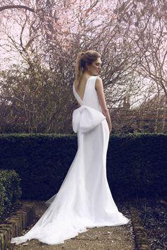 Nicole wedding dress by AgnesMiraRosa on Etsy