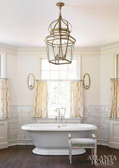 Architect D. Stanley Dixon in Buckhead, GA. Atlanta Homes & Lifestyles.  Marble Tiles. Like mine for the back splash