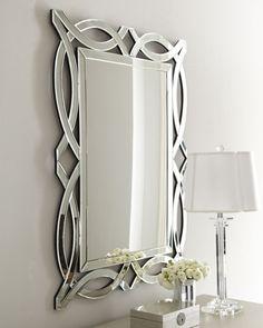 """Miramar"" Figure-8 Mirror from Horchow"