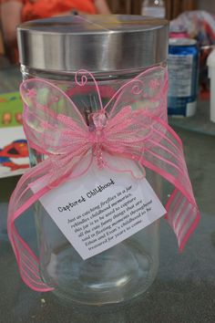 Captured Childhood - Mother's Day gift Idea.  Children say the cutest things, why not write them down and keep them in a decorated jar to be shared with them later or transferred to scrapbook journaling?