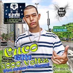 DJ Cuco & DJ Grafiti 1000 Voltz pra Deixar em Choque (Mixtape) Download - BAIXAR R.A.P NACIONAL
