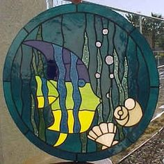 0d9a315ab72bb Stained Glass Fish Stained Glass Projects