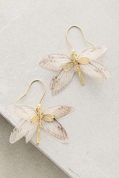 beautiful dragonfly earrings