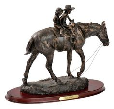 Western figurines and sculptures for western style home decoration Western Decor, Western Art, Cowboy Bathroom, Salvaged Decor, Build Your House, Cowboy Art, Western Outfits, Decor Crafts, Home Decor