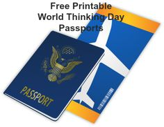 Free printable passports for many countries! Great for World Thinking day activities!