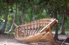 Here is a little boat built on a beach at Ile a Vache-S-W Haiti. and sailed to West Palm Beach, I think thats in Florida. some 800 miles. Launched...
