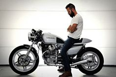 Honda CX500 CAfe racer, one for Ethan