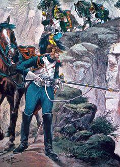 Dragoni della guardia imperiale francese - Jacques Onfroy de Bréville