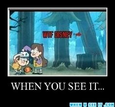 Well then Gravity Falls.....