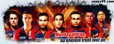 Delhi Daredevils Facebook Covers