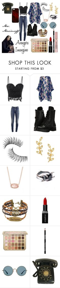 """Avengers Imagine"" by nerdyform on Polyvore featuring Supra, Capezio, Trish McEvoy, Tai, Kendra Scott, Smashbox, L'Oréal Paris and Ray-Ban"