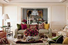 Para viver, receber e dançar - Casa Vogue | Apartamentos