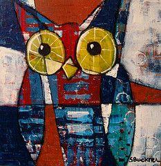 'Owl' by Suzan Buckner