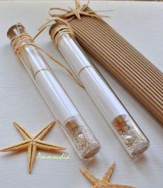 invitación para una boda de playa, Mensaje en una botella!