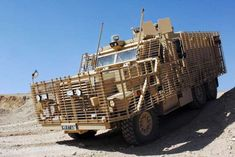 Adapted from the US Marines' Cougar 6x6 by NP Aerospace in the UK, this third-generation Caterpillar... - Force Protection