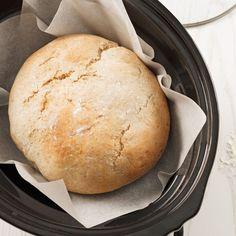 Pain multigrain à la mijoteuse - 5 ingredients 15 minutes Bread Machine Recipes, Bread Recipes, Real Food Recipes, Cooking Recipes, Crock Pot Food, Crockpot Dishes, Slow Cooker Bread, Slow Cooker Recipes, Bagels