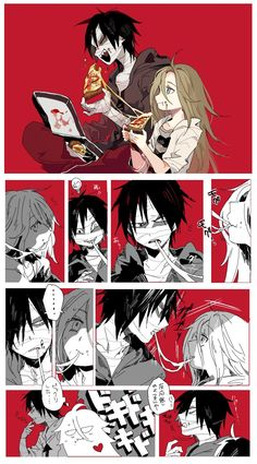 Satsuriku no Tenshi (Angels Of Death) Image - Zerochan Anime Image Board Angel Of Death, Bakugou Manga, Ange Demon, Satsuriku No Tenshi, Rpg Horror Games, Film D'animation, Anime Angel, Cute Anime Couples, Anime Ships