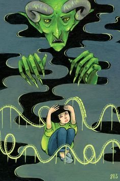 'Goosebumps' Art Will Make All Your Childhood Dreams (And Nightmares) Come True
