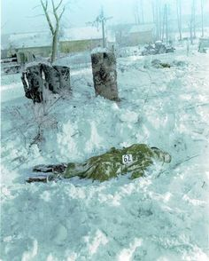 #Onthisday 1944: The Malmedy Massacre via @warfaremagazine #BattleOfTheBulge #WW2