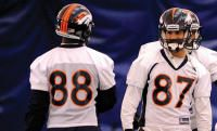Potential of Broncos' Eric Decker, Demaryius Thomas stokes veteran WR - The Denver Post