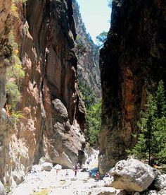 Samaria Gorge, Crete, Greece Crete Island, Mount Rushmore, To Go, Crete Greece, Mountains, Places, Nature, Travel, Crete