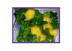 salade mangue épinard