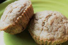 Trim Healthy Mama Banana Oatmeal Blender Muffins  {THM E}