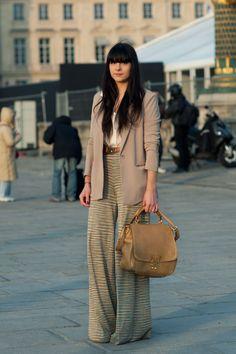 Alix Bancout  Fashion Blogger  http://www.thecherryblossomgirl.com  -Queen's Wardrobe Blazer  -Miu Miu Bag  -Vintage Belt