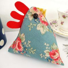 Triangle chicken. This would be a cute doorstop