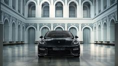 After floating around in the rumor mill last month, Porsche Exclusive has finally unveiled their special edition Panamera. Based on the Turbo S Executive, the four-door coupe features a two-color combining deep black with a hand-painted metallic chestnut brown and will be limited to just 100 units …