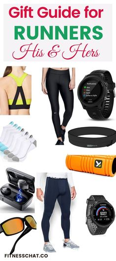 Looking for running gifts, running gadgets and gifts for runners? Check out this fitness gift guide for runners who have everything!