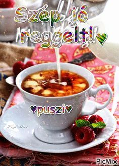 Good Morning Flowers, Chocolate Coffee, Coffee Art, Ethnic Recipes, Food, Cheese, Humor, Google, I Love Coffee