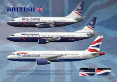 British Airways Boeing 737 - A320 Artwork