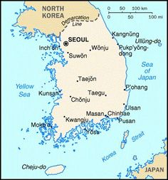 Map Of South Korea: South Korean Language, Culture, Costoms And Etiquette