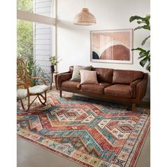 Pink /& Terracotta Moroccan Rug Small Large Transitional Tribal Living Room Rugs