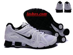online retailer ea4f9 d771d chaussures nike shox turbo+gris homme blanc noir www.lashox.com Nike Sb